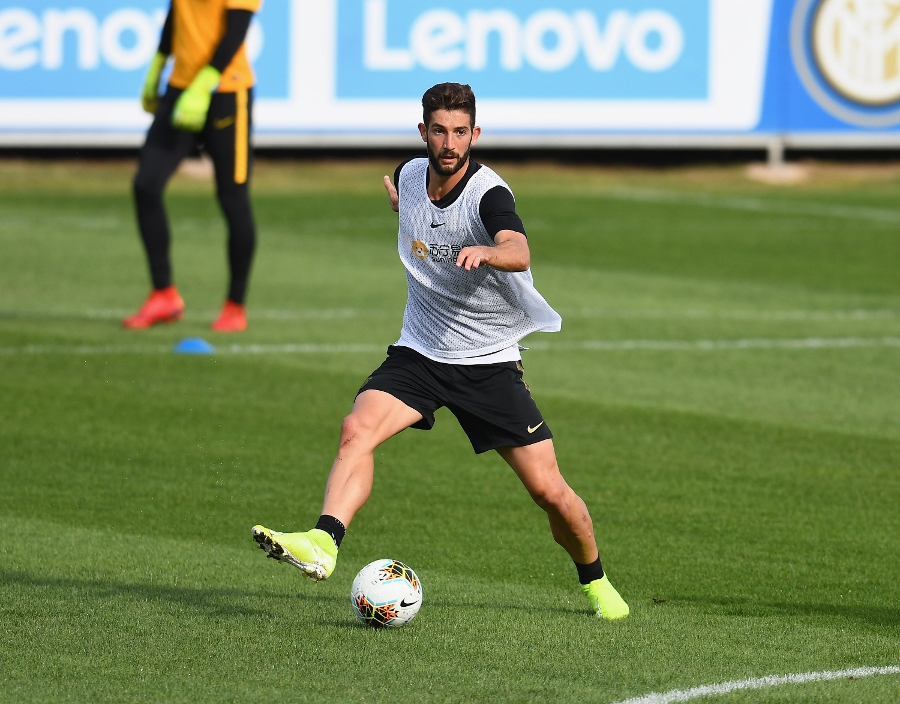 Double session for the Nerazzurri: Fitness work, matches and possession